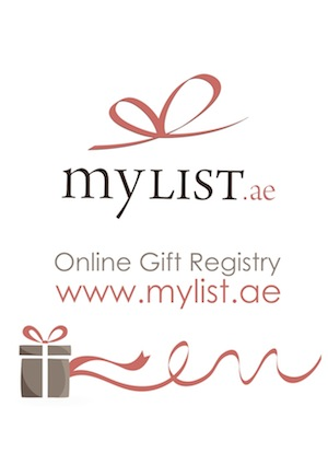 MyList, the first online gift registry in the UAE