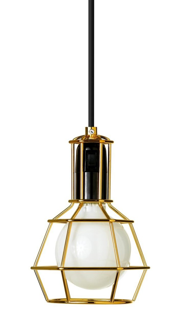 Design House Stockholm work lamp gold available in DTales