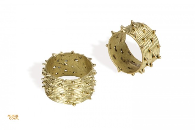 Napkin Rings by Mukul Goyal available in Dubai Gifts