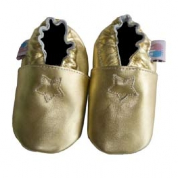 Star Gold shoes in bubsboutique